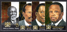 Botswana 2000 Chiefs and Presidents unmounted mint.