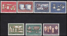 Greenland 1986-88 Local Craft Artefacts unmounted mint.