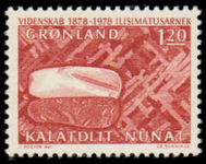 Greenland 1978 Scientific Research unmounted mint.