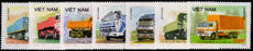 Vietnam 1990 Trucks unmounted mint.