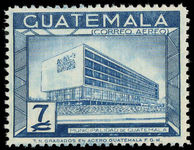 Guatemala 1964 Municipal Building 7c Recess unmounted mint.