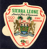 Sierra Leone 1968 6½c on 40c Olympics unmounted mint.