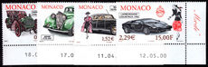 Monaco 2000 Motor Cars and fashion unmounted mint.