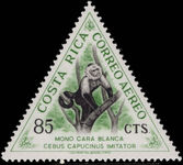 Costa Rica 1963 85c White Throated Capuchin unmounted mint.
