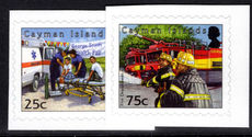 Cayman Islands 2012 Emergency Services self-adhesive unmounted mint.