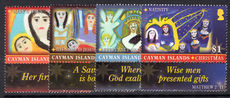 Cayman Islands 2012 Christmas Paintings unmounted mint.