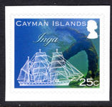 Cayman Islands 2013 Shipwrecks and Anchors self-adhesive unmounted mint.
