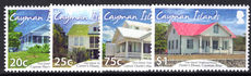 Cayman Islands 2104 Sister Islands Traditional Houses unmounted mint.