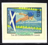 Cayman Islands 2014 Commonwealth Games self-adhesive unmounted mint. unmounted mint.