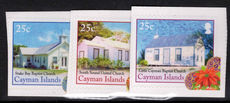 Cayman Islands 2014 Christmas Churches self-adhesive unmounted mint.
