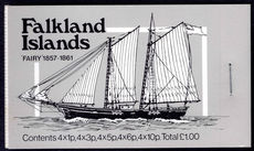 Falkland Islands 1982 Mail Ships bookets unmounted mint.