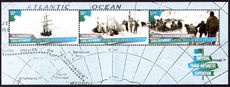 Ross Dependency 2015 Imperial Trans-Antarctic Expedition souvenir sheet unmounted mint.