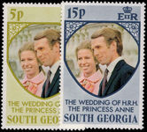 South Georgia 1973 Royal Wedding unmounted mint.
