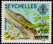 Seychelles 1980 1r10 provisional unmounted mint.