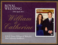 Tokelau 2011 Royal Wedding souvenir sheet unmounted mint.