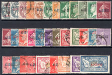 Algeria 1924-25 set fine used (one or two lightly mounted mint).