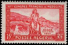 Algeria 1955 French Medical Congress lightly mounted mint.