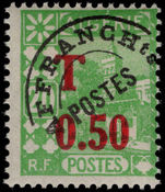 Algeria 1944 Postage Due lightly mounted mint.