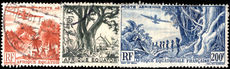 French Equatorial Africa 1947-52 airs fine used (200f unused no gum).