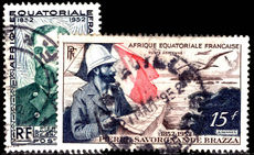French Equatorial Africa 1951 De Brazza fine used.