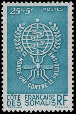French Somali Coast 1962 Malaria unmounted mint.