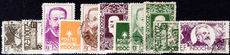 Indo-China 1944 Famous Governors fine used (Pavie values unused).