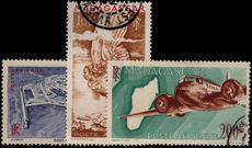 Madagascar 1946 air set fine used.