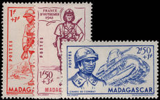 Madagascar 1941 Empire Defense fine unmounted mint.