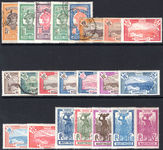 Martinique 1922-30 changed colours set mixed fine used and lightly mounted mint lightly mounted mint.
