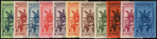 Martinique 1935 Postage Due set fine lightly mounted mint (20c fine used).