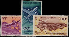 New Caledonia 1948 Air set fine lightly mounted mint.