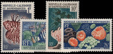 New Caledonia 1959-62 Original values fine lightly mounted mint.