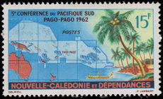 New Caledonia 1962 South Pacific Conference fine lightly mounted mint.