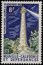 New Caledonia 1965 Amedee Lighthouse fine lightly mounted mint.