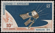 New Caledonia 1966 D1 Satellite fine lightly mounted mint.