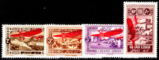 Lebanon 1926 air overprint set fresh mint lightly hinged.