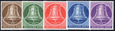 Berlin 1953 Freedom Bell, Clapper centre unmounted mint.