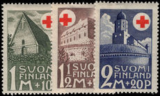 Finland 1931 Red Cross lightly mounted mint.