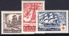 Finland 1937 Red Cross lightly mounted mint.