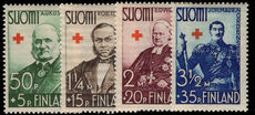 Finland 1938 Red Cross lightly mounted mint.