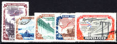 Russia 1951 Hydro-Electric Power Stations fine used.