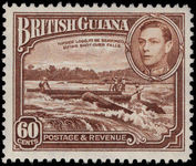 British Guiana 1938-52 60c red-brown unmounted mint.