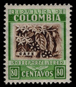 Colombia 1932-39 80c air lightly mounted mint.