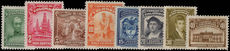 Colombia 1939-49 set (less 5c blue) lightly mounted mint.