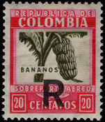 Colombia 1932 Air registration lightly mounted mint.