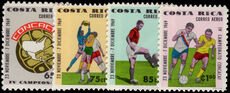 Costa Rica 1969 Football unmounted mint.