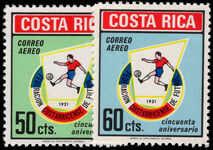 Costa Rica 1971 Costa Rican Football Federation unmounted mint.