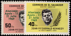 El Salvador 1969 First Man on the Moon unmounted mint.