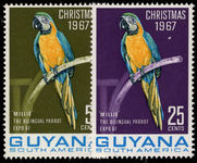 Guyana 1967-68 Christmas 1st issue unmounted mint.