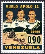 Venezuela 1969 First Man on the Moon unmounted mint.